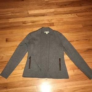 Banana Republic Petite small sweater blazer